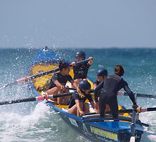 Surfboat championships, Watergate Bay. by Nik Taylor