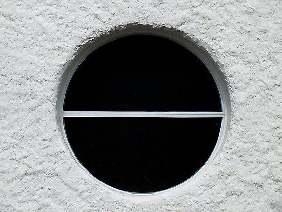 Porthole Window, Our Lady Star of the Sea and St Winefride, Amlwch, Anglesey  by Yampimon