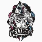 PELUSSJE as Strong Macho with Pyramid Head by SIDECHAIN MASSACRE