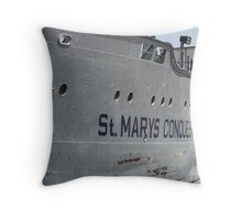 St. Mary's Conquest Throw Pillow