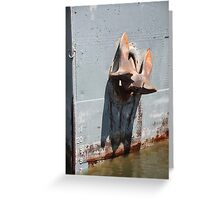 St. MARYS CONQUEST ANCHOR Greeting Card