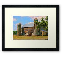 """Farm to Farm"" Framed Print"
