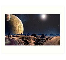 Dune Again Art Print