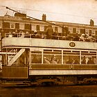 Vintage Blackpool Tram by John Hare