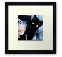 I only have eyes for you Framed Print