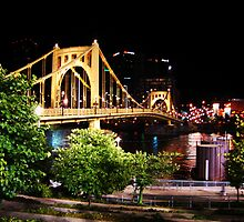 Roberto Clemente Bridge - Pittsburgh, Pennsylvania by michael6076