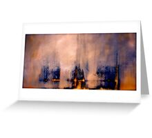 Between the Darkness and the Light Greeting Card