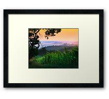 San Gimignano Hills #1 Framed Print