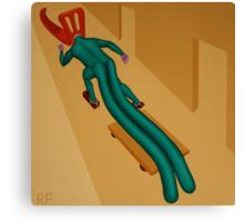 Overcoming Anatomical Irregularity Canvas Print