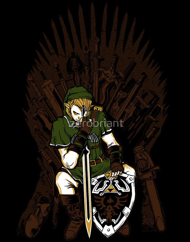 Game of Blades Poster by zerobriant