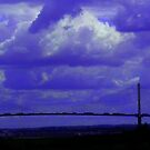 The QE2 Bridge and Dartford Power Station by Chris1249