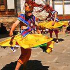 Tashiling Festival #1, Eastern Himalayas, Central Bhutan  by Carole-Anne