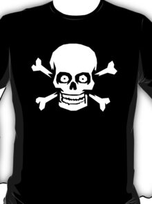 Jolly Roger Pirate Skull and Crossbones T-Shirt