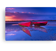 """""""Dawn over the Riverflats"""" Canvas Print"""