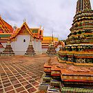 Wat Pho - Thailand by Bobby McLeod