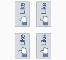 Facebook Like Button Decals (4) by avdesigns