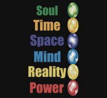 Infinity Gems  by PopCultFanatics