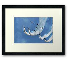 Red Arrows ~ Lyme Regis Framed Print