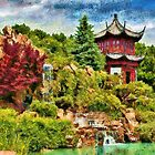 Chinese Gardens II - painted by PhotosByHealy