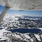 Flying to Truckee by CherylBee