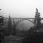 The Foggy Bridge by CherylBee