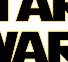 Start Wars (they're cool) Star wars spoof Sticker