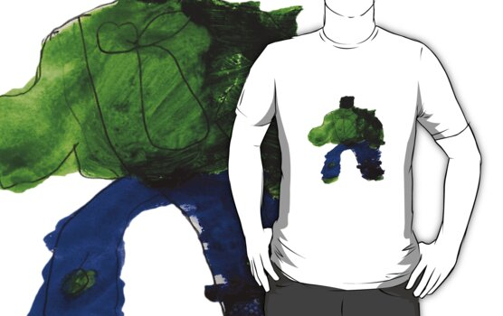 The Hunk Superhero Tee by Vincent Gitto