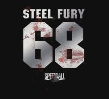 Speedball 2 - Steel Fury Jersey - Steel and Blood by TGIGreeny