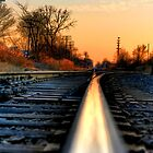 Down the Tracks by John Cruz