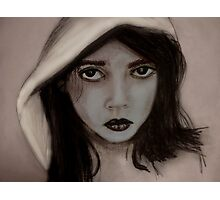 """""""Hey there little red riding hood"""" Photographic Print"""