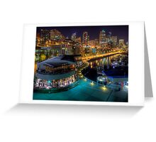 Seattle from Pier 66 Greeting Card