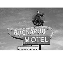 Route 66 - Tucumcari, New Mexico Photographic Print