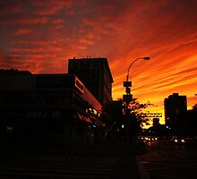 Sunset Over Delancey by Vivienne Gucwa