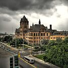 Old Main at Wayne State by John Cruz