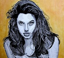 Angelina Jolie by WienArtist