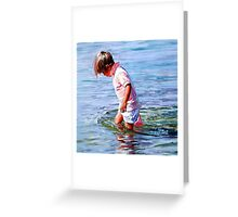 The Weight of Water Greeting Card