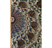 Roof detail, Amur Timur Mausoleum Photographic Print