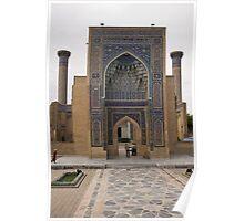 Front gate, Amur Timur Mausoleum Poster
