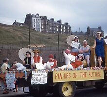 1960 Bathing Bells, parade, Isle of Man by Andrew Jones