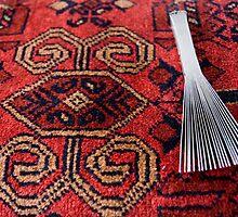 Carpet making tool by Gillian Anderson LAPS, AFIAP