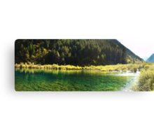 Picturesque Of Calm Water Canvas Print