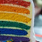 Rainbow Cake by Nicole  Hastings