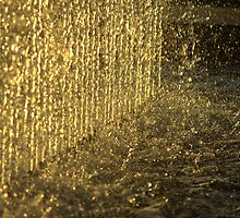 It's raining gold by Mandy Brown