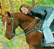 Her Favorite Horse by Yvonne Carter