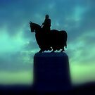 Robert the Bruce Scotlands one time Leader by chick
