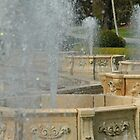 Three Water Fountains at the Gardens by jamiecwagner