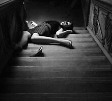 Fallen down the stairs by Littlered1990