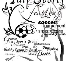 Fall Sports Fest Promo Flyer by Danny Huynh