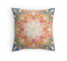 Mantra Mandala Throw Pillow
