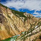 Yellowstone Canyon by Leasha Hooker